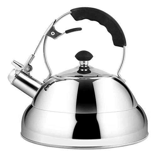 LUNAH Whistling Kettle Stovetop Kettles Whistling Tea Stove Stove-Capsule-type Stainless Steel Kettle At The Bottom For Faster Boiling And Holding