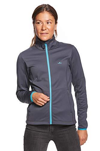 Jeff Green Damen Midlayer Softshell Sport Jacke Fleece Innenfutter Jada, Farbe:Navy, Größe - Damen:40