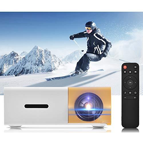 【𝐏𝐫𝐨𝐦𝐨𝐜𝐢ó𝐧 𝐝𝐞 𝐒𝐞𝐦𝐚𝐧𝐚 𝐒𝐚𝐧𝐭𝐚】 Mini proyector, proyector de películas portátil 1080P HD, Reproductor Multimedia HDMI de Cine en casa, para Uso doméstico, para Navidad cumpleaños año