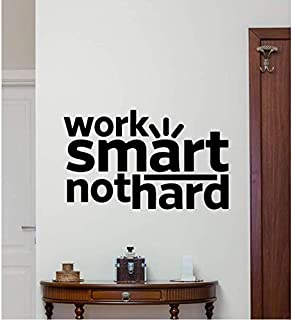 2 Pcs Sticker Motivation Vinyle Autocollant Art Bureau Affiche Mur Décor Tatouage Amovible Eco Amical Matériau 57 * 36 Cm