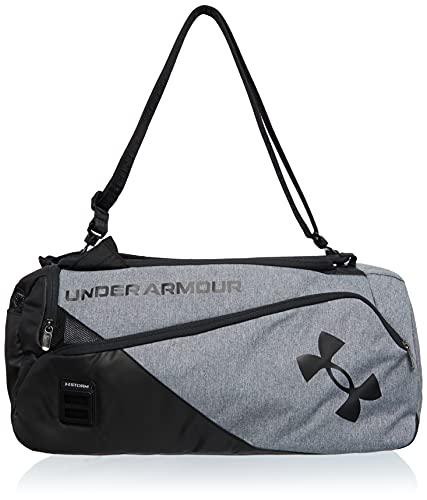 Under Armour, borsone unisex Contain Duo, taglia M, grigio, OSFA