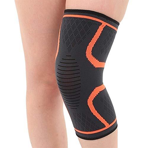 Herren Anti-Rutsch-Sport-Knie-Pads, Pressurized Elastische Lagerung Fitnessgeräte, verwendet for Sport Radfahren und Skaten Fitness Training oder Arbeit kann lindern Gelenkschmerzen, Stiff Knees, Stam