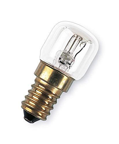 OSRAM Horno Bombilla Incandescente, E14, 15 watts, Trasparente, 1 Unidad