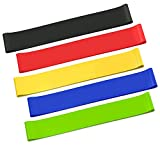 Linden Ridge Resistance Loop Elastic Exercise Bands Stretch Bands for Home Gym Workout Fitness Stretching Training
