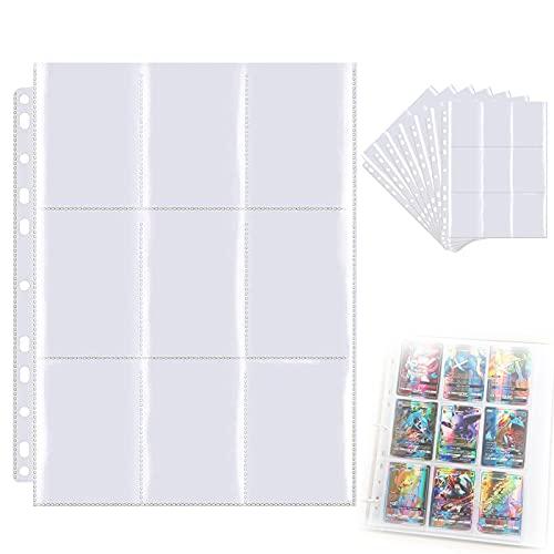 Bolsillos de Cartas, Fundas para Cartas Album 20 Páginas,360 Bolsillos de Cartas Se Puede Utilizar para Tarjetas de Colección, álbumes de Fotos.