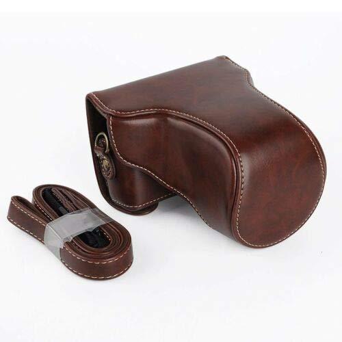 Funda protectora de piel sintética para cámara Canon EOS M10 18-55 mm 15-45 mm
