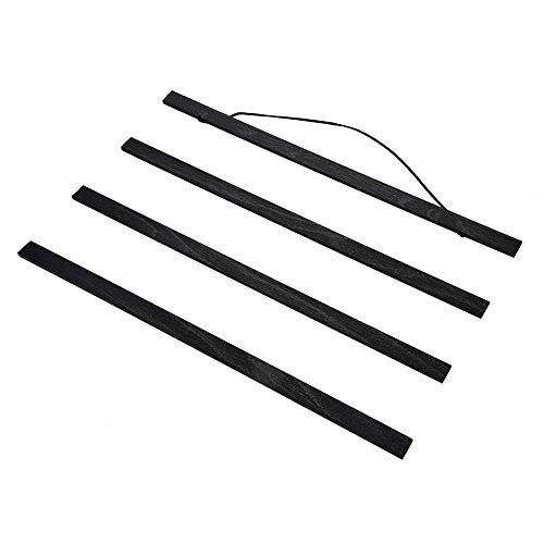 Magnetische Poster Hanger Frame, 21cm / 30cm / 40cm / 50cm / 60cm / 70cm / 80cm Licht Houten Magnetische Canvas Grafische Deuvel Poster Foto Foto Hanger Frames DIY (50cm)