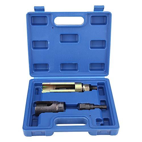 GOTOTOP 3 Stücke Injektor Abzieher Injektor Abzieher Werkzeug Abzieher Set aus Kohlenstoffstahl mit Tragekoffer für Mercedes CDI C-Klasse, E-Klasse und Sprinter