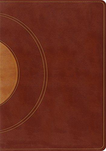 ESV Study Bible (TruTone, Walnut/Taupe, Core Design)