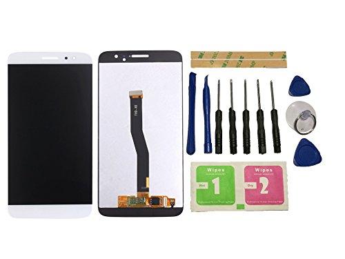 Flügel para Huawei Nova plus Pantalla LCD pantalla Blanco Táctil digitalizador Asamblea Pantalla ( sin marco ) de Recambio & Herramientas