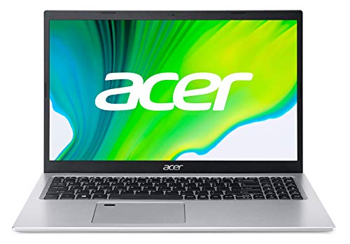 Acer Aspire 5 – 15.6 inch FullHD Laptop (Intel Core i5-1135G7, 8GB RAM, 512GB SSD, UMA Graphics, Windows 10 Home), Silver – Qwerty Spanish Keyboard