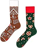 Many Mornings unisex Socken - The Gingerbread Man – Socken Weihnachten (43-46)