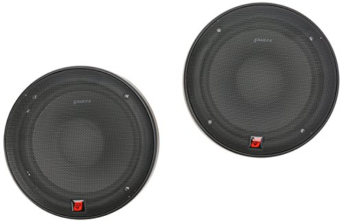 CERWIN VEGA XED650C 6.5-Inch 300 Watts Max 2-Way Component Speaker Set, Black