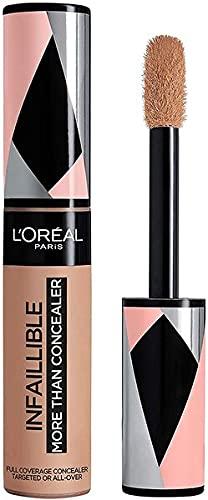 L'Oréal Paris Correttore a Lunga Tenuta Infaillible More Than a Concealer, Formula Extra Coprente in Una Sola Passata, 329 Cashew