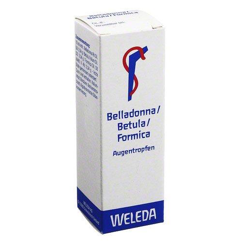 BELLADONNA/BETULA/FORMICA Augentropfen 10 ml Augentropfen