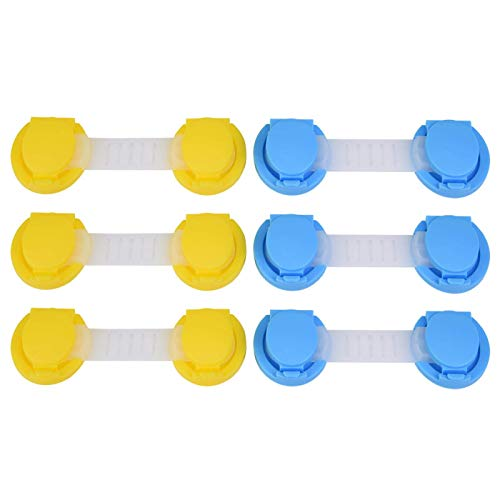 Armario Cajón Armario Cerraduras a prueba de niños ABS Adecuado para armario