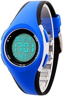ETOWS® Relojes de los Niños Flash Luces 50M Impermeable