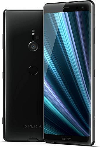 """Sony Xperia XZ3 - Smartphone da 6"""" QHD+ HDR 18:9 OLED (Snapdragon 845, 4 GB di RAM, Memoria Interna da 64 GB, Fotocamera da 19 MP, Android), Colore: Nero"""