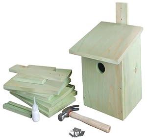 Esschert Design USA KG52 Children's Build it Yourself Birdhouse Kit
