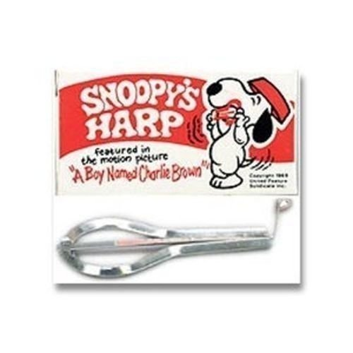 New 3490 Snoopy All Metal Jaw Harp Music Instrument New in Box Sale
