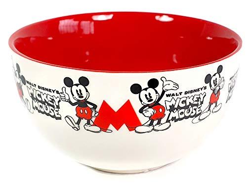 ALMACENESADAN 2206; tazón Disney Mickey Mouse; Apto para microondas. Tazón de Desayuno.