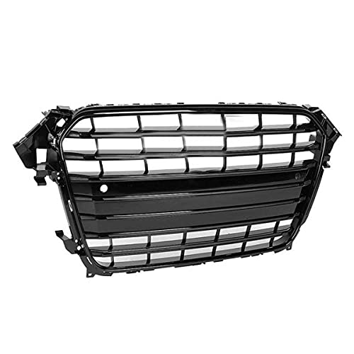 XPPDM S4 Style Car Front Bumper Grille Grill, para A4 / S4 B8 2008 2009 2010 2011 2011 ABS Auto Accesorios