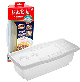 Microwave Pasta Cooker - The Original Fasta Pasta - No Mess, Sticking or Waiting For Boil (B000YT2XOI)   Amazon price tracker / tracking, Amazon price history charts, Amazon price watches, Amazon price drop alerts