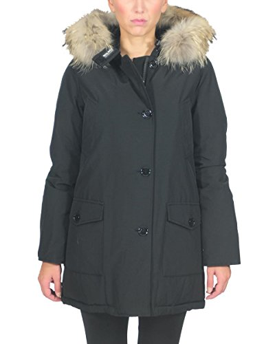 Woolrich Parka Arctic in Misto Cotone WWCPS2479CN03 Black