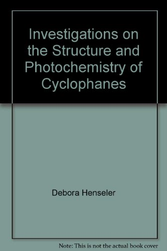 Investigations on the Structure and Photochemistry of Cyclophanes