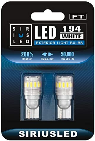 SIRIUSLED FT 194 912 Side Marker LED Light Car Interior Map Dome Trunk Backup Bulb High Power product image