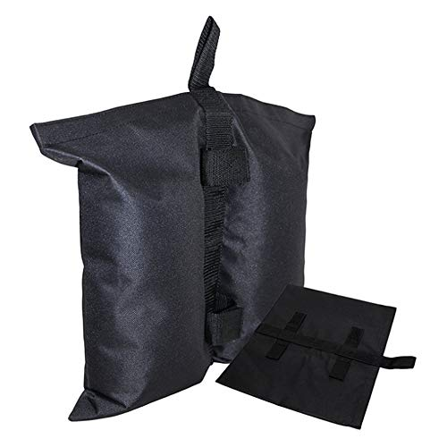 LCM Windproof Sandbags, Portable Stand-Up Tents Counterweight Bags Outdoor Awnings Advertising Display Sheds Fixed Sandbag Kit Base (4PCS)