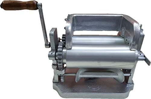 "Made in Mexico Manual Corn Tortilla Maker GONZALEZ Maquina Tortilladora Aluminum 5.5"" Automatic Cutting Machine"