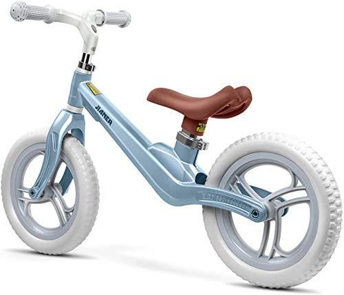 ZXL Bicicleta de equilibrio para niños sin pedal Scooter 1-6 años Niños 360 ° Dirección Cuerpo de una pieza Altura ajustable