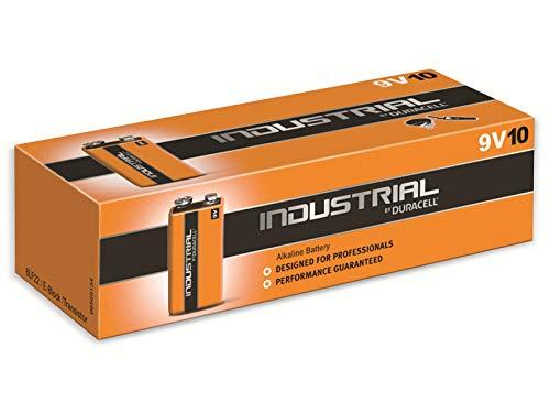 Batterie Industrial 9V-Block - 10er pack