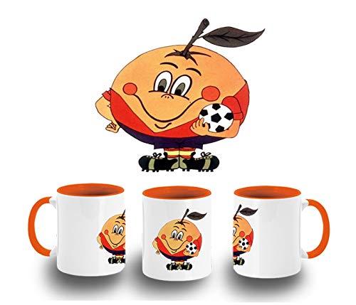 Taza Naranja Naranjito Mascota Mundial ESPAÑA Color mug