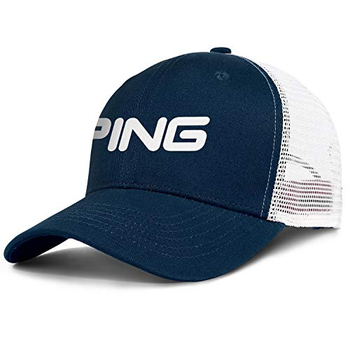 Ande Mours Mens Womens Hiking Trucker Golf Cap Breathable Adjustable Snapback