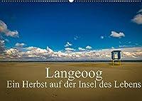 Langeoog - Ein Herbst auf der Insel des Lebens (Wandkalender 2022 DIN A2 quer): Herbststimmungen auf Langeoog. (Monatskalender, 14 Seiten )