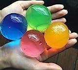 J&J - Juego de 30 perlas de agua de gel de color mixto, de diferentes colores, para decoración de bodas, Navidad,...