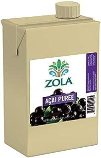 Zola Brazilian Superfruits Acai Berry Puree, 46 Ounce Box