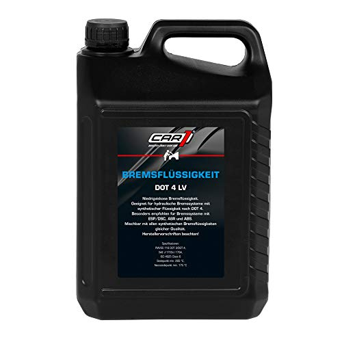 pas cher un bon car1 co3553 Dot4LV Liquide de frein 5.0L ISO4925 Classe 6 SAE J 1703/1704