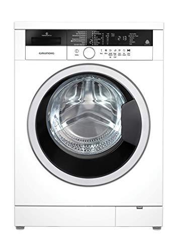 Grundig GWA 38431 Waschvollautomat/ 1400 U/min/ LED-Display mit Sensortasten/ Super Silent mit 53/73 dBA/ Inverter EcoMotor/ A+++/ 8 kg/ 3 Jahre Herstellergarantie