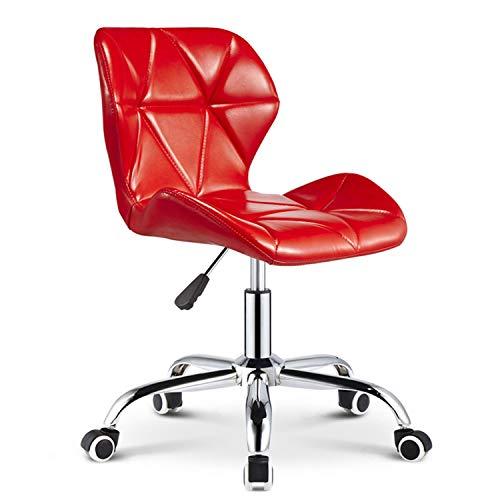 Preisvergleich Produktbild AQUYY Bürostuhl,  hydraulischer Hebemechanismus,  verstellbar 43-58 cm,  drehbarer Rollstuhl,  Beautyhocker D