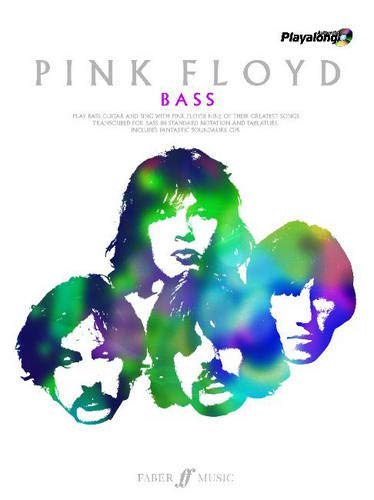 """""""Pink Floyd"""": Authentic Playalong Bass + CD: Nine of Their Greatest Songs"""
