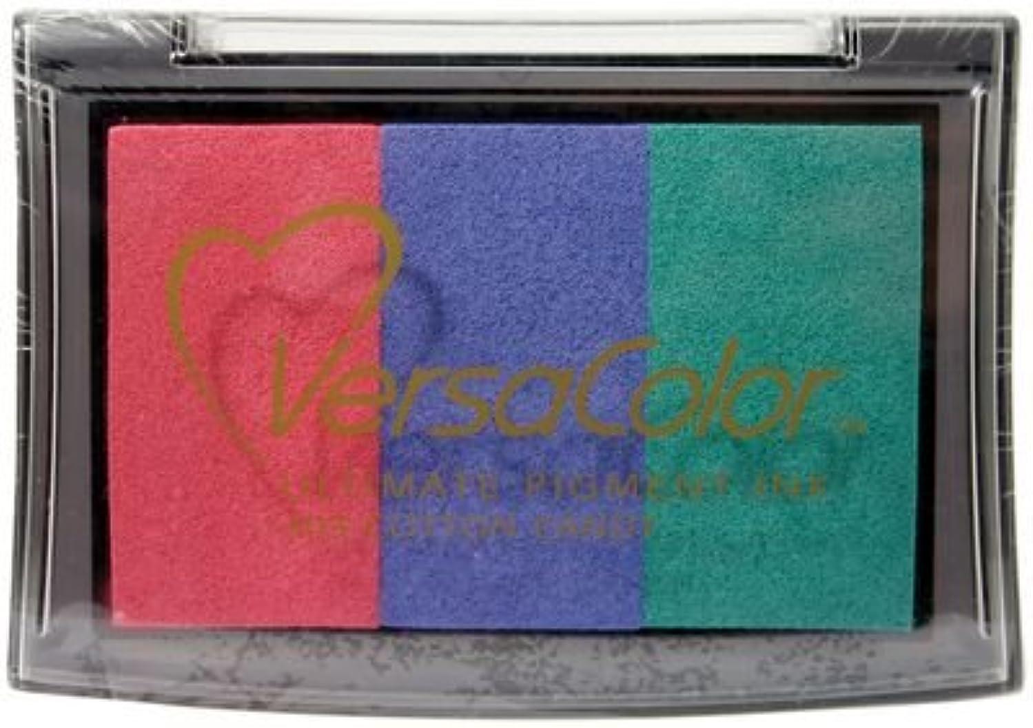 Tsukineko VersaColor 3-Color Pigment Ink Pad: Cotton Candy