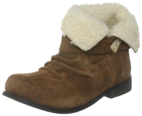 Gola Saddle CLA608, Damen, Sneaker, Braun (Brown), EU 39 (UK 6)