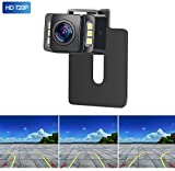 Yakry HD 960P Backup Camera for Car/Truck/SUV Rear View Reversing Intelligent Dynamic Trajectory Camera with IP 69K Waterproof Mount Hidden Guide Line ON/OFF
