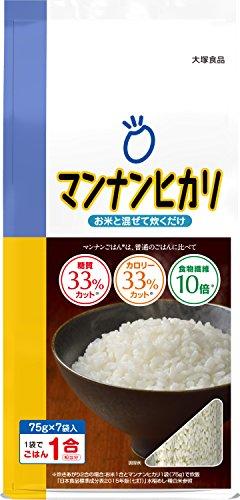 大塚食品 マンナンヒカリ 525g [スティックタイプ(75g×7袋入)]