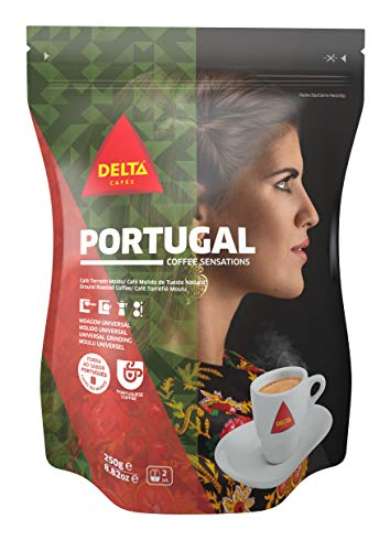 Delta Portugal Gemahlener Röstkaffee Universal-Schleif 250g