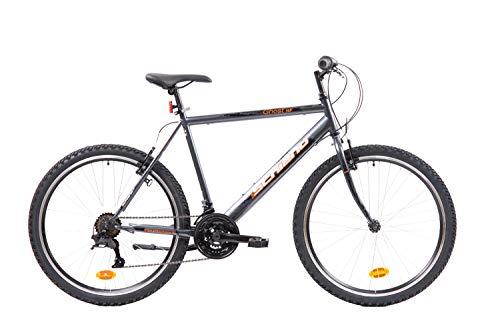 F.lli Schiano Ghost, Bici MTB Uomo, Antracite-Arancio, 26