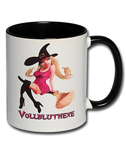 Spruchtasse Funtasse Bürotasse Tasse mit Spruch Hexentasse Kaffeetasse Tasse mit Aufdruck Sexy Hexe